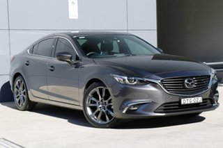 2017 Mazda 6 GL1031 Atenza SKYACTIV-Drive Machine Grey 6 Speed Sports Automatic Sedan.