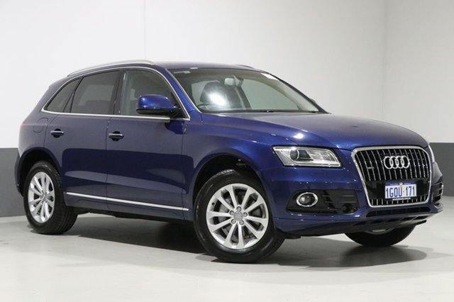 Used Audi Q5 8R MY17 TDI S tronic quattro, 2016 Audi Q5 8R MY17 TDI S tronic quattro Scuba Blue 7 Speed Sports Automatic Dual Clutch Wagon