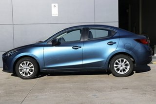 2018 Mazda 2 DL2SAA Maxx SKYACTIV-Drive Eternal Blue 6 Speed Sports Automatic Sedan
