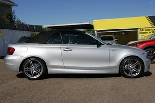 2013 BMW 118d E88 LCI MY1112 Steptronic Silver 6 Speed Sports Automatic Convertible.