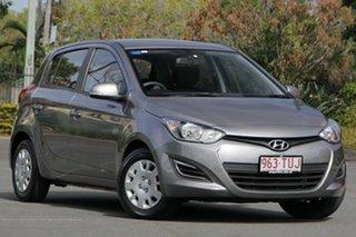 2013 Hyundai i20 PB MY14 Active Grey 4 Speed Automatic Hatchback.
