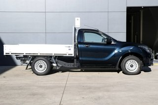 2018 Mazda BT-50 UR0YE1 XT 4x2 Deep Crystal Blue 6 Speed Manual Cab Chassis