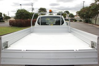 2013 Mitsubishi Triton MN MY14 GLX White 4 Speed Sports Automatic Cab Chassis