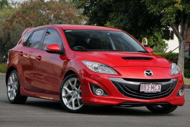 Used Mazda 3 BL1031 MPS, 2011 Mazda 3 BL1031 MPS Red 6 Speed Manual Hatchback