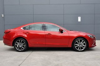 2017 Mazda 6 GL1031 GT SKYACTIV-Drive Soul Red 6 Speed Sports Automatic Sedan.