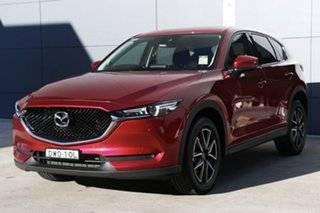 2018 Mazda CX-5 KF4W2A GT SKYACTIV-Drive i-ACTIV AWD Soul Red Crystal 6 Speed Sports Automatic Wagon.