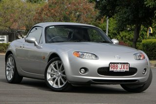 2006 Mazda MX-5 NC30F1 MY07 Roadster Coupe Silver 6 Speed Sports Automatic Hardtop.