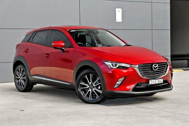 Demo Mazda CX-3 DK2W7A Akari SKYACTIV-Drive, 2018 Mazda CX-3 DK2W7A Akari SKYACTIV-Drive Soul Red 6 Speed Sports Automatic Wagon