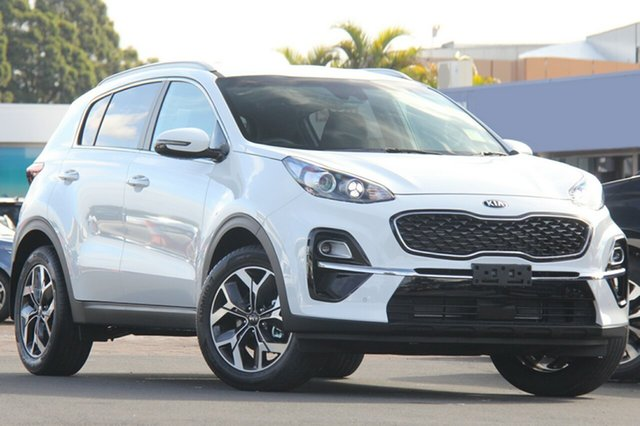 New Kia Sportage QL MY19 SLi AWD, 2018 Kia Sportage QL MY19 SLi AWD Clear White 8 Speed Sports Automatic Wagon