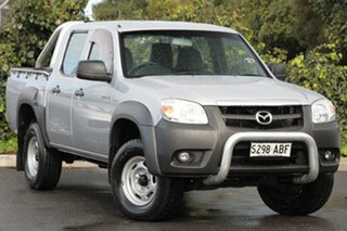 2008 Mazda BT-50 UNY0E4 DX Highlight Silver 5 Speed Automatic Utility.