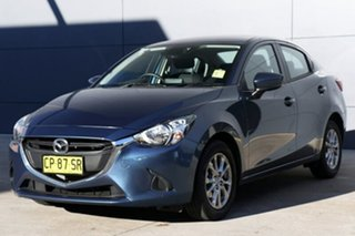 2018 Mazda 2 DL2SAA Maxx SKYACTIV-Drive Eternal Blue 6 Speed Sports Automatic Sedan.
