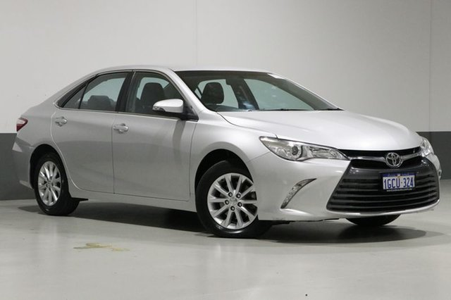 Used Toyota Camry ASV50R MY15 Altise, 2016 Toyota Camry ASV50R MY15 Altise Silver 6 Speed Automatic Sedan