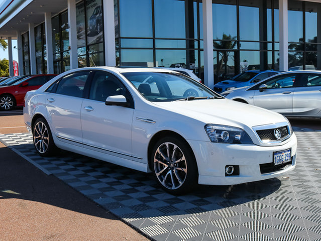 Used Holden Caprice WN MY16 V, 2016 Holden Caprice WN MY16 V White 6 Speed Automatic Sedan