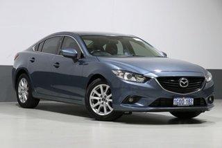 2013 Mazda 6 6C GT Blue 6 Speed Automatic Sedan.