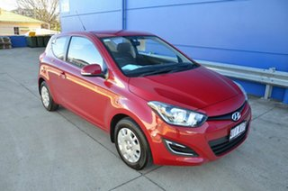 2014 Hyundai i20 PB MY14 Active Red 6 Speed Manual Hatchback