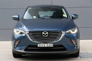 2018 Mazda CX-3 DK2W7A sTouring SKYACTIV-Drive Eternal Blue 6 Speed Sports Automatic Wagon.