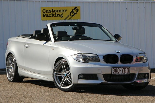 Used BMW 118d E88 LCI MY1112 Steptronic, 2013 BMW 118d E88 LCI MY1112 Steptronic Silver 6 Speed Sports Automatic Convertible