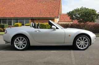 2006 Mazda MX-5 NC30F1 MY07 Roadster Coupe Silver 6 Speed Sports Automatic Hardtop