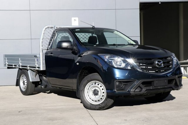 New Mazda BT-50 UR0YE1 XT 4x2, 2018 Mazda BT-50 UR0YE1 XT 4x2 Deep Crystal Blue 6 Speed Manual Cab Chassis