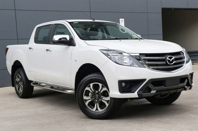New Mazda BT-50 UR0YG1 XTR, 2018 Mazda BT-50 UR0YG1 XTR Cool White 6 Speed Sports Automatic Utility