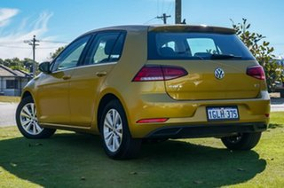 2017 Volkswagen Golf 7.5 MY18 110TSI DSG Trendline Turmeric Yellow 7 Speed.