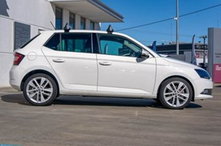 2017 Skoda Fabia NJ MY18 81TSI DSG White 7 Speed Sports Automatic Dual Clutch Hatchback.