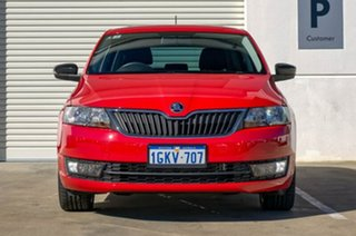 2017 Skoda Rapid NH MY17 Spaceback DSG Red 7 Speed Sports Automatic Dual Clutch Hatchback