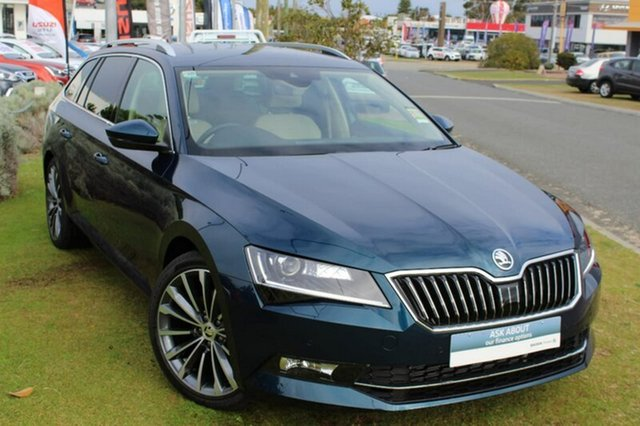Demo Skoda Superb NP MY18.5 162TSI DSG, 2018 Skoda Superb NP MY18.5 162TSI DSG Blue 6 Speed Sports Automatic Dual Clutch Wagon