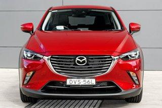 2018 Mazda CX-3 DK2W7A Akari SKYACTIV-Drive Soul Red 6 Speed Sports Automatic Wagon.