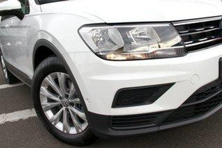 2020 Volkswagen Tiguan 5N MY20 110TSI DSG 2WD Trendline White 6 Speed Sports Automatic Dual Clutch.