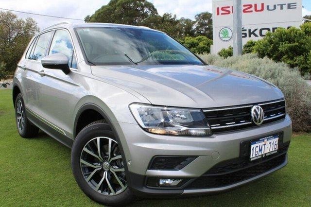 Demo Volkswagen Tiguan 5N MY18 110TDI DSG 4MOTION Comfortline, 2018 Volkswagen Tiguan 5N MY18 110TDI DSG 4MOTION Comfortline Tungsten Silver 7 Speed
