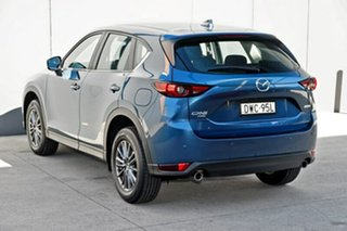 2018 Mazda CX-5 KF4WLA Maxx SKYACTIV-Drive i-ACTIV AWD Sport Eternal Blue 6 Speed Sports Automatic