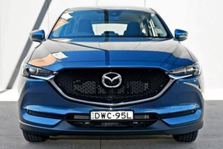 2018 Mazda CX-5 KF4WLA Maxx SKYACTIV-Drive i-ACTIV AWD Sport Eternal Blue 6 Speed Sports Automatic.