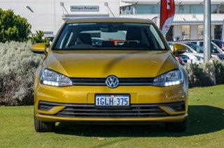 2017 Volkswagen Golf 7.5 MY18 110TSI DSG Trendline Turmeric Yellow 7 Speed