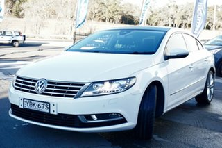 2013 Volkswagen CC Type 3CC MY14 130TDI DSG White 6 Speed Sports Automatic Dual Clutch Coupe.