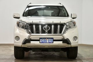2013 Toyota Landcruiser Prado KDJ150R MY14 Kakadu White 5 Speed Sports Automatic Wagon