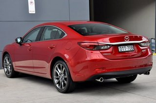 2017 Mazda 6 GL1031 GT SKYACTIV-Drive Soul Red 6 Speed Sports Automatic Sedan.