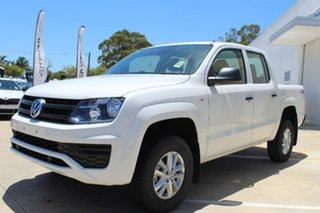 2017 Volkswagen Amarok 2H MY17 TDI400 4MOT Core Candy White 6 Speed Manual Utility