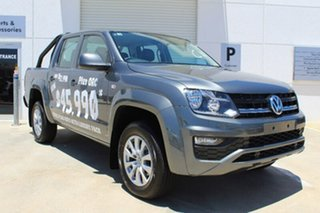 2017 Volkswagen Amarok 2H MY17 TDI420 4MOTION Perm Core Plus Indium Grey 8 Speed Automatic Utility