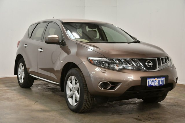 Used Nissan Murano Z51 Series 2 MY10 ST, 2011 Nissan Murano Z51 Series 2 MY10 ST Champagne Bronze 6 Speed Constant Variable Wagon