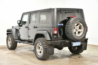 2012 Jeep Wrangler JK MY2012 Unlimited Sport Black 5 Speed Automatic Softtop.