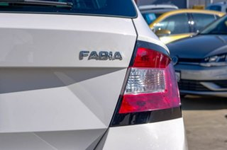 2017 Skoda Fabia NJ MY18 81TSI DSG White 7 Speed Sports Automatic Dual Clutch Hatchback