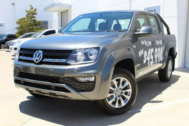 Demo Volkswagen Amarok 2H MY17 TDI420 4MOTION Perm Core Plus, 2017 Volkswagen Amarok 2H MY17 TDI420 4MOTION Perm Core Plus Indium Grey 8 Speed Automatic Utility