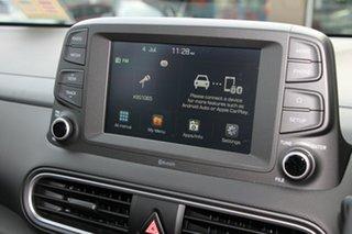 2017 Hyundai Kona OS MY18 Elite D-CT AWD Phantom Black 7 Speed Sports Automatic Dual Clutch Wagon