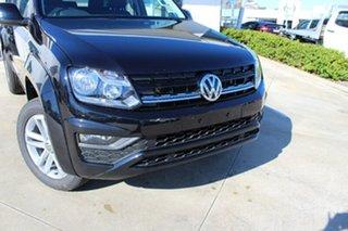 2018 Volkswagen Amarok 2H MY18 TDI420 4MOTION Perm Core Plus Deep Black Pearl Effect 8 Speed