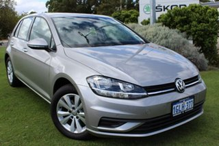 2017 Volkswagen Golf 7.5 MY18 110TSI DSG Trendline Tungsten Silver 7 Speed.
