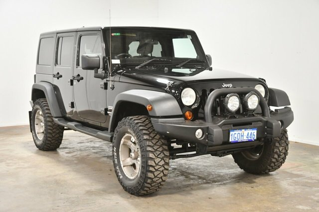 Used Jeep Wrangler JK MY2012 Unlimited Sport, 2012 Jeep Wrangler JK MY2012 Unlimited Sport Black 5 Speed Automatic Softtop