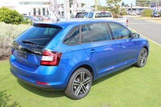 2017 Skoda Rapid NH MY17 Spaceback DSG Race Blue 7 Speed Sports Automatic Dual Clutch Hatchback