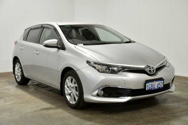 Used Toyota Corolla ZRE182R Ascent Sport S-CVT, 2015 Toyota Corolla ZRE182R Ascent Sport S-CVT Silver 7 Speed Constant Variable Hatchback
