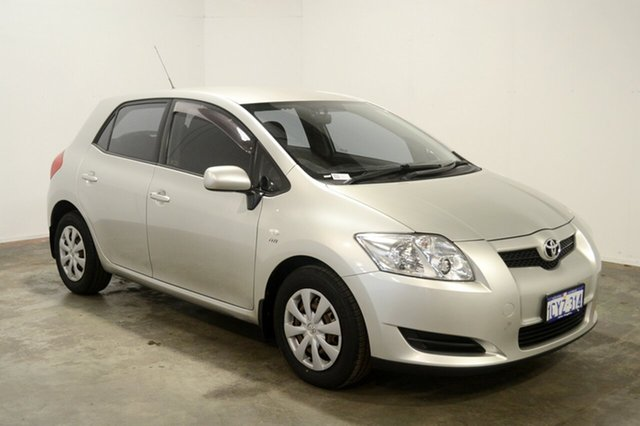 Used Toyota Corolla ZRE152R Ascent, 2008 Toyota Corolla ZRE152R Ascent Silver 4 Speed Automatic Hatchback